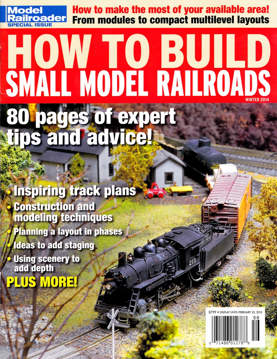 Just to which extent can be seen from the fact that Model Railroader issued  a special edition on how to build and run small layouts in January 2015.