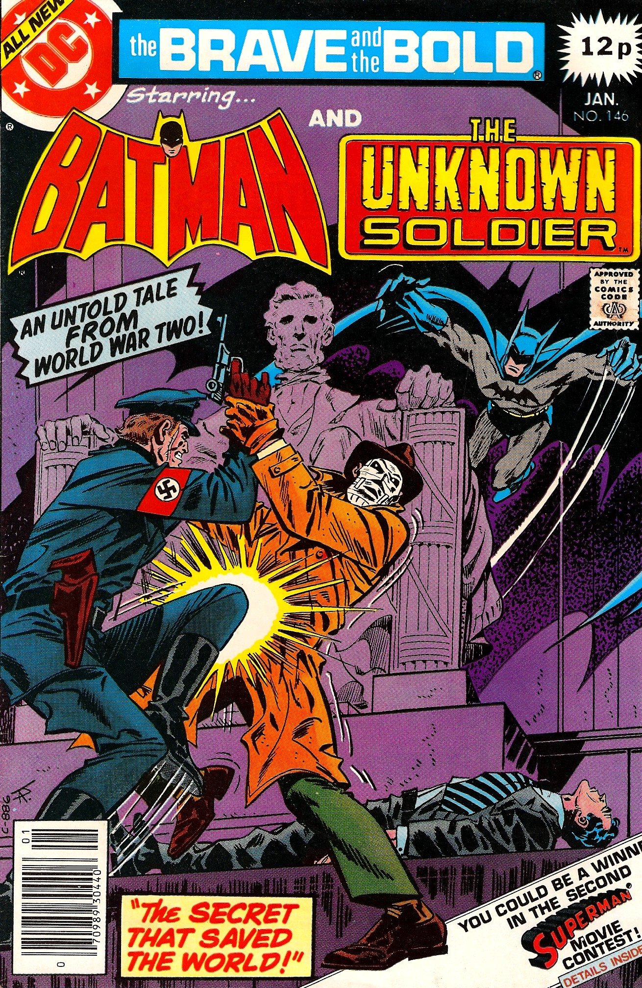 1970s Bronze Age Batman Brave And The Bold #146