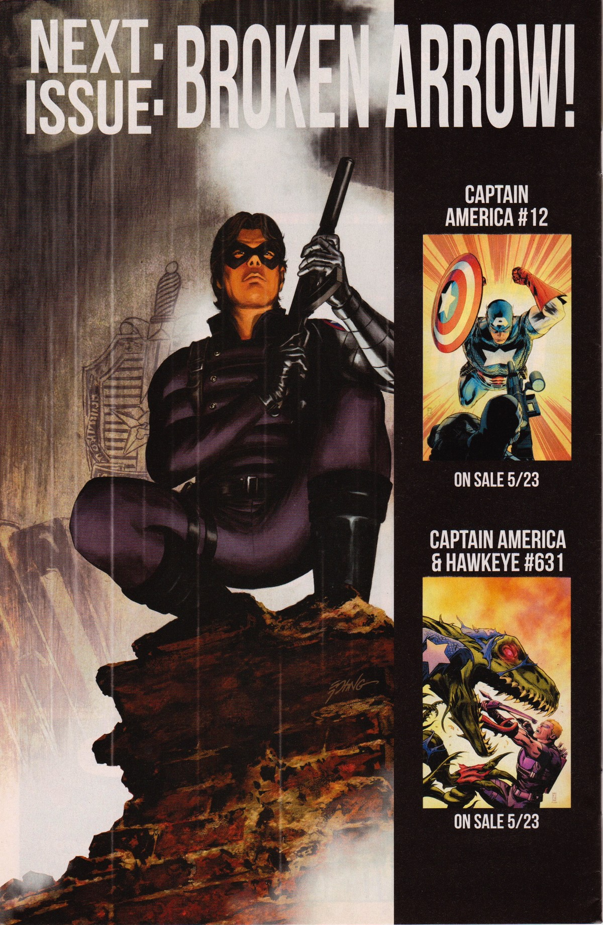 Read Up On Marvel Comics Winter Soldier @ The Thought Balloon