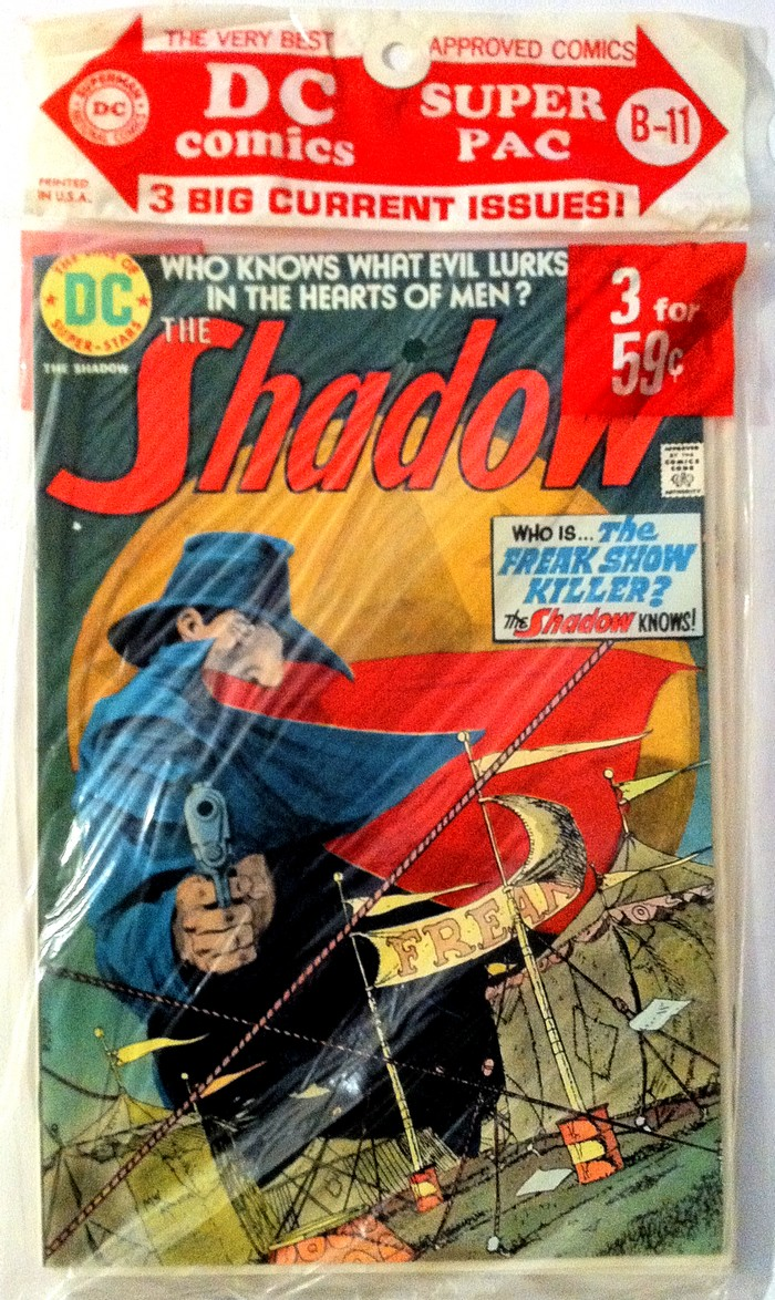 0ff7a0ef367 Super Pac B-11 features issue  2 of The Shadow